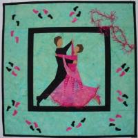 Dancing couple Barbara Habicht
